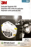 8210 Particulate Respirator N95 (20 Pack)