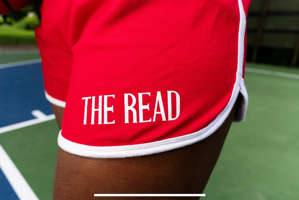 Image of Red Sports Shorts