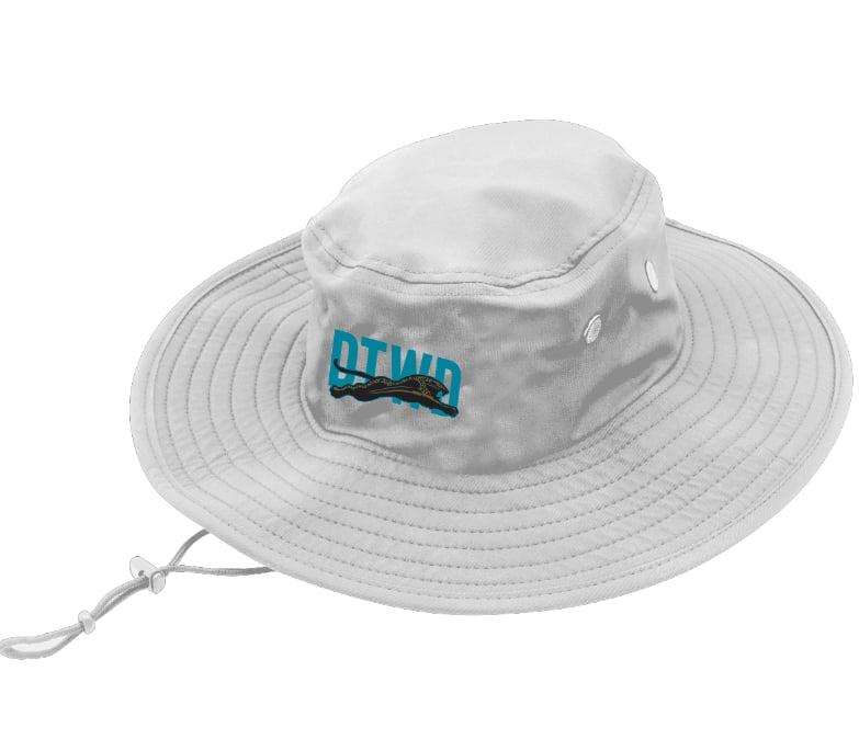 Image of DTWD - Gray - Wide brim bucket hat