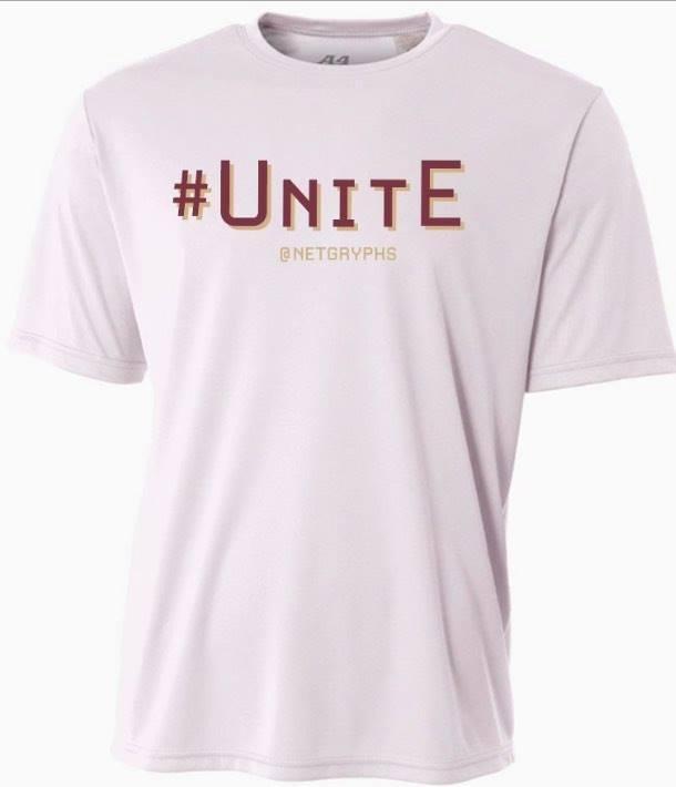 Image of #UNITE - SG Performance S/S Shirt (WHITE)