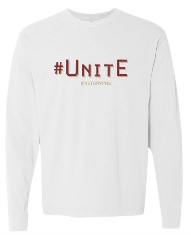 Image of #UNITE - SG Performance Long Sleeve (WHITE)