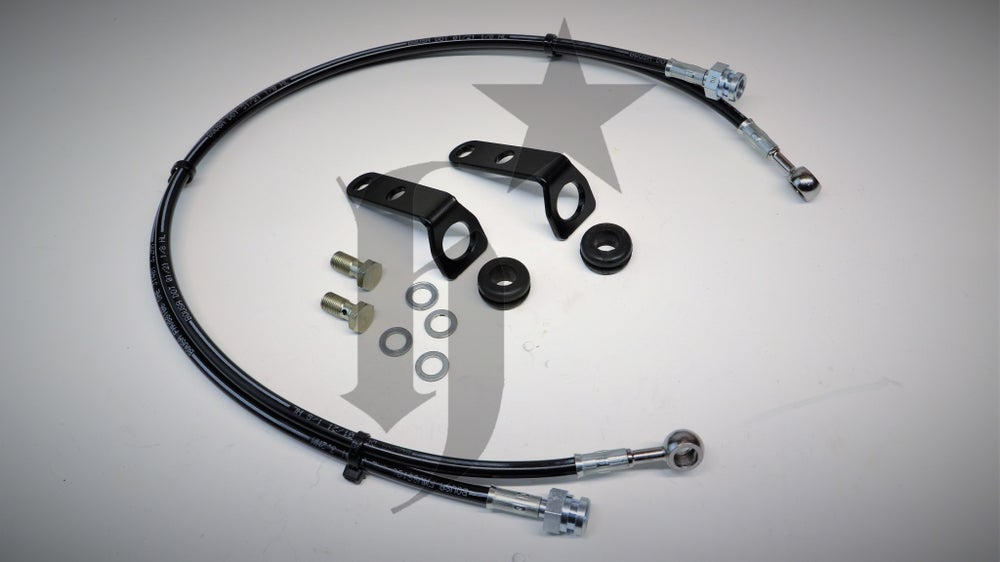 Image of S1 Built AWD Rear Brake lines and Bracket