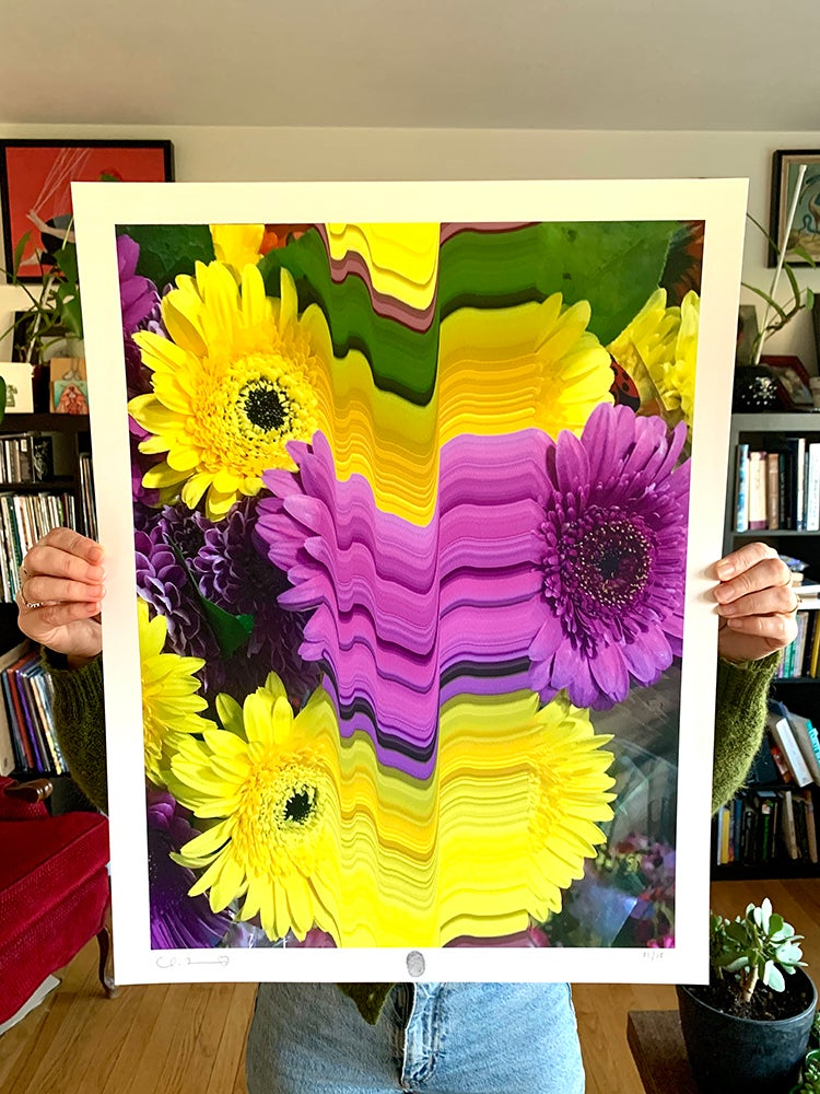 Image of Flowers Against Humanity 006 Limited Edition Giclee Fine Art Print