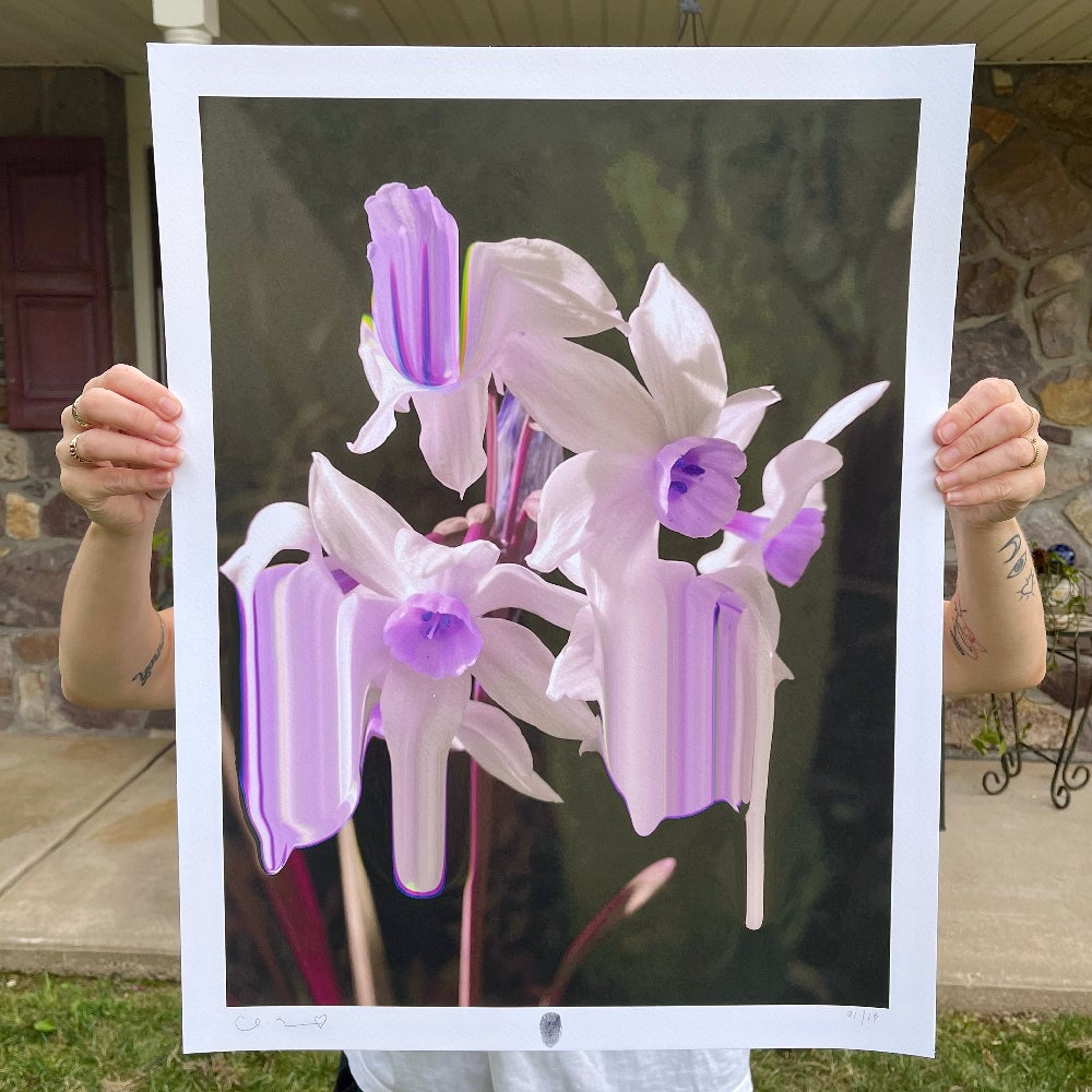 Image of Flowers Against Humanity 008 Limited Edition Giclée Fine Art Print