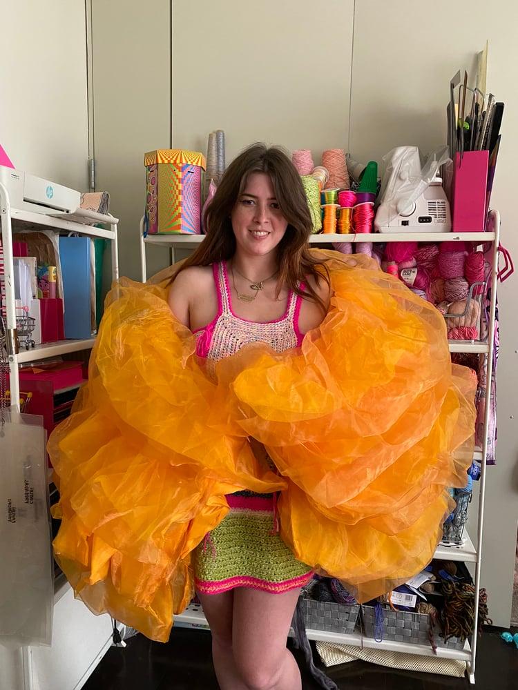 Image of Caitlin mini jumbo boa bag