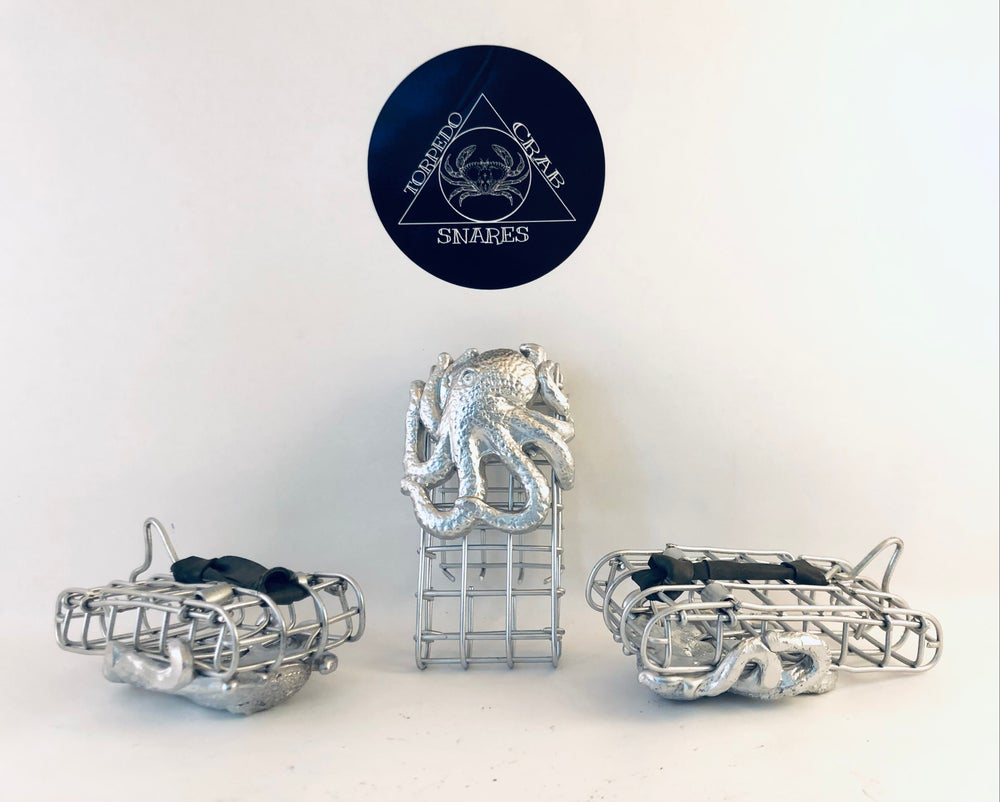 Image of The Giant Octopus Torpedo Crab Snare NEW NEW NEW