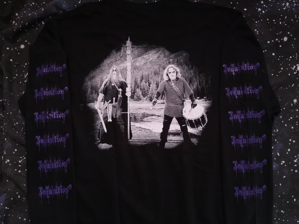 Inquisition Black Mass for a Black Grave Long Sleeve *imported*