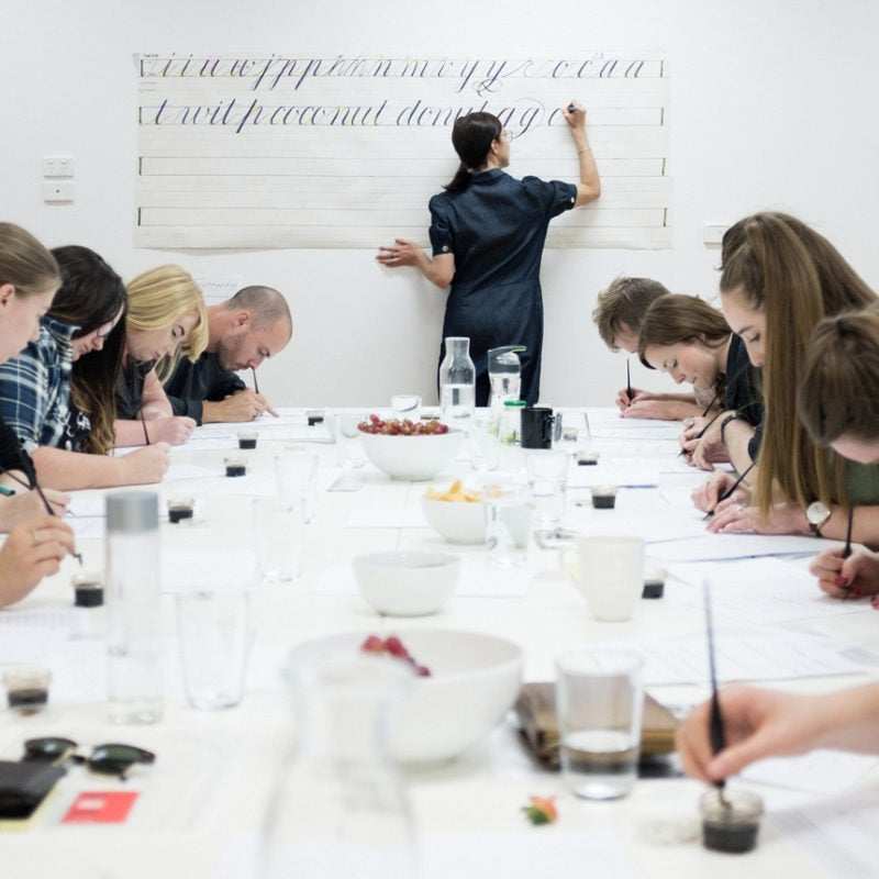 Image of In-Person Copperplate Calligraphy