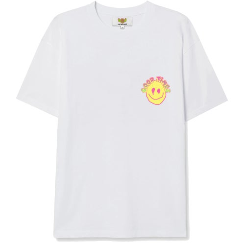 """Image of """"Good Times"""" shirt - white (exclusive)"""