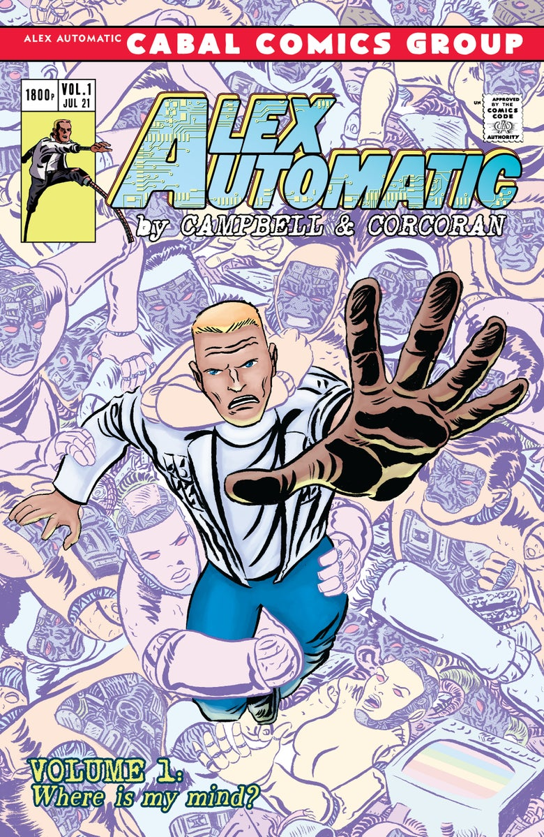 Image of Alex Automatic Volume One: PRINT EDITION