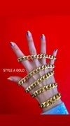 ALL OUR CHAIN BRACELETS SILVER & GOLD