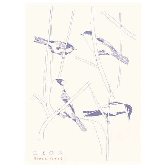 Image of Birds of Japan Poster