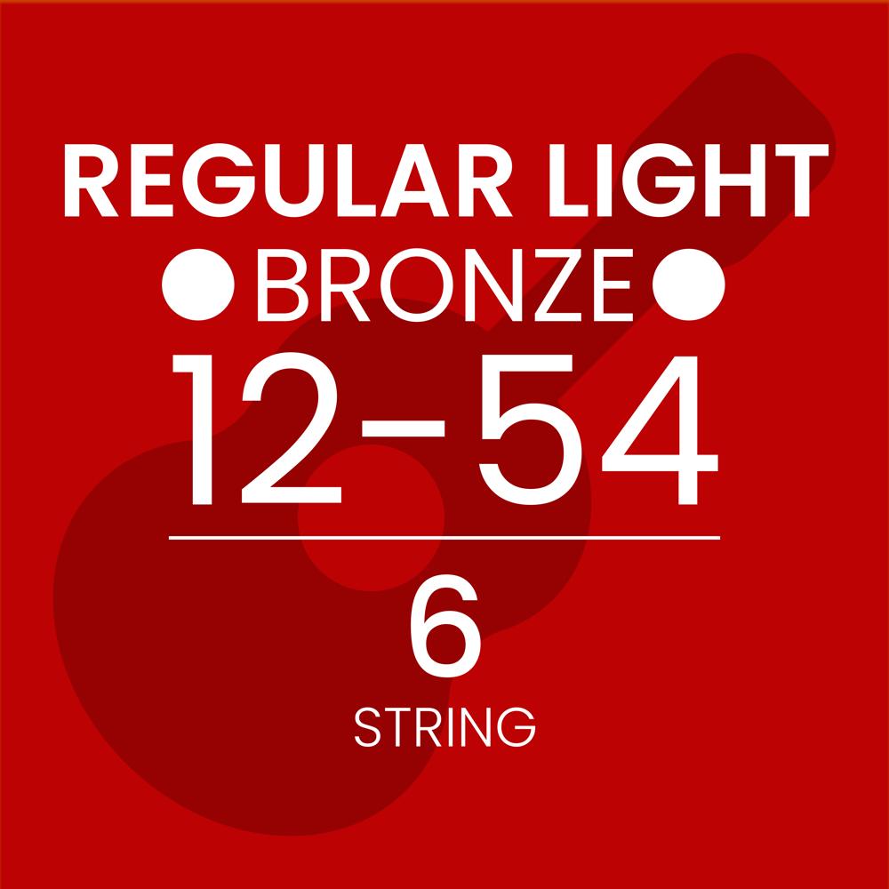 Regular Light Bronze Acoustic