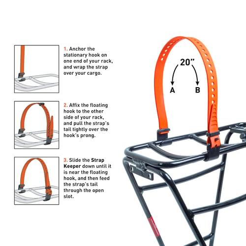 "Image of Voile Straps® Rack Strap — 20"""