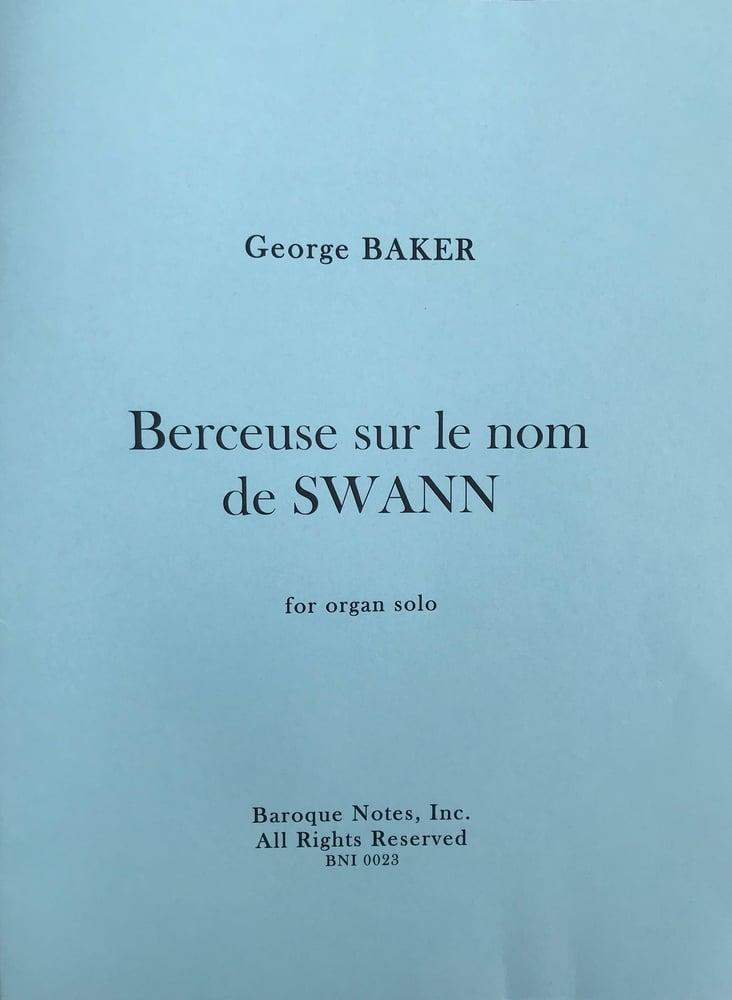 Image of Berceuse sur le Nom de SWANN