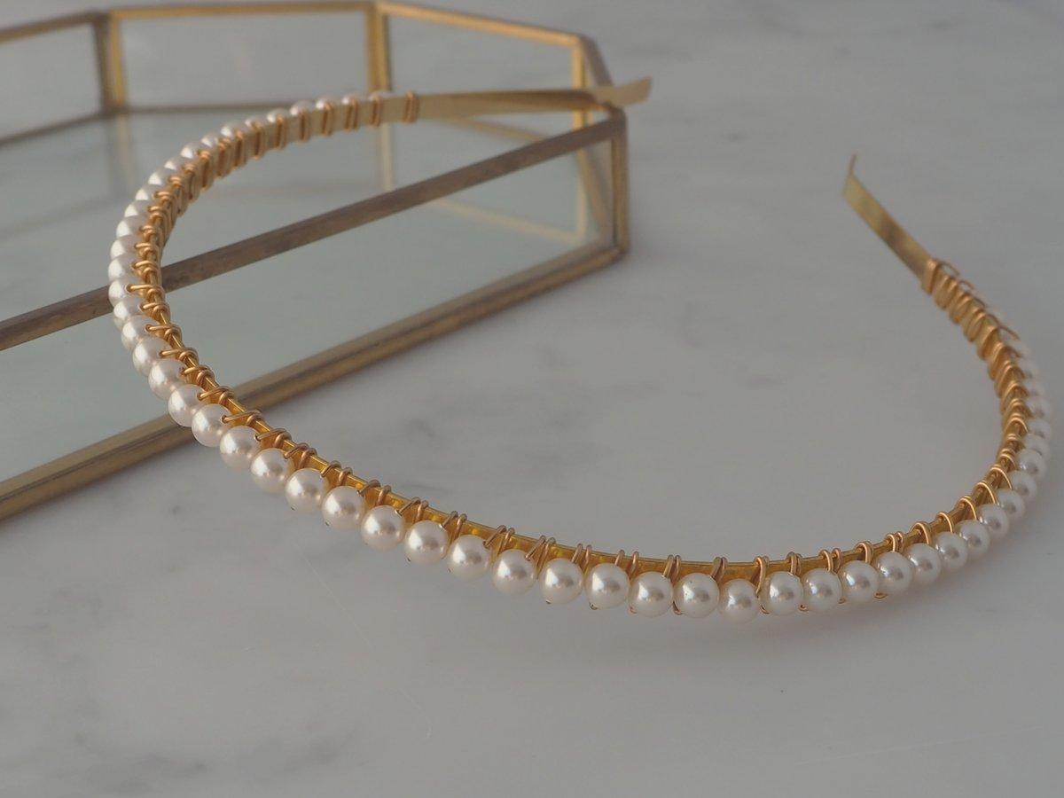 Pearl petite headband