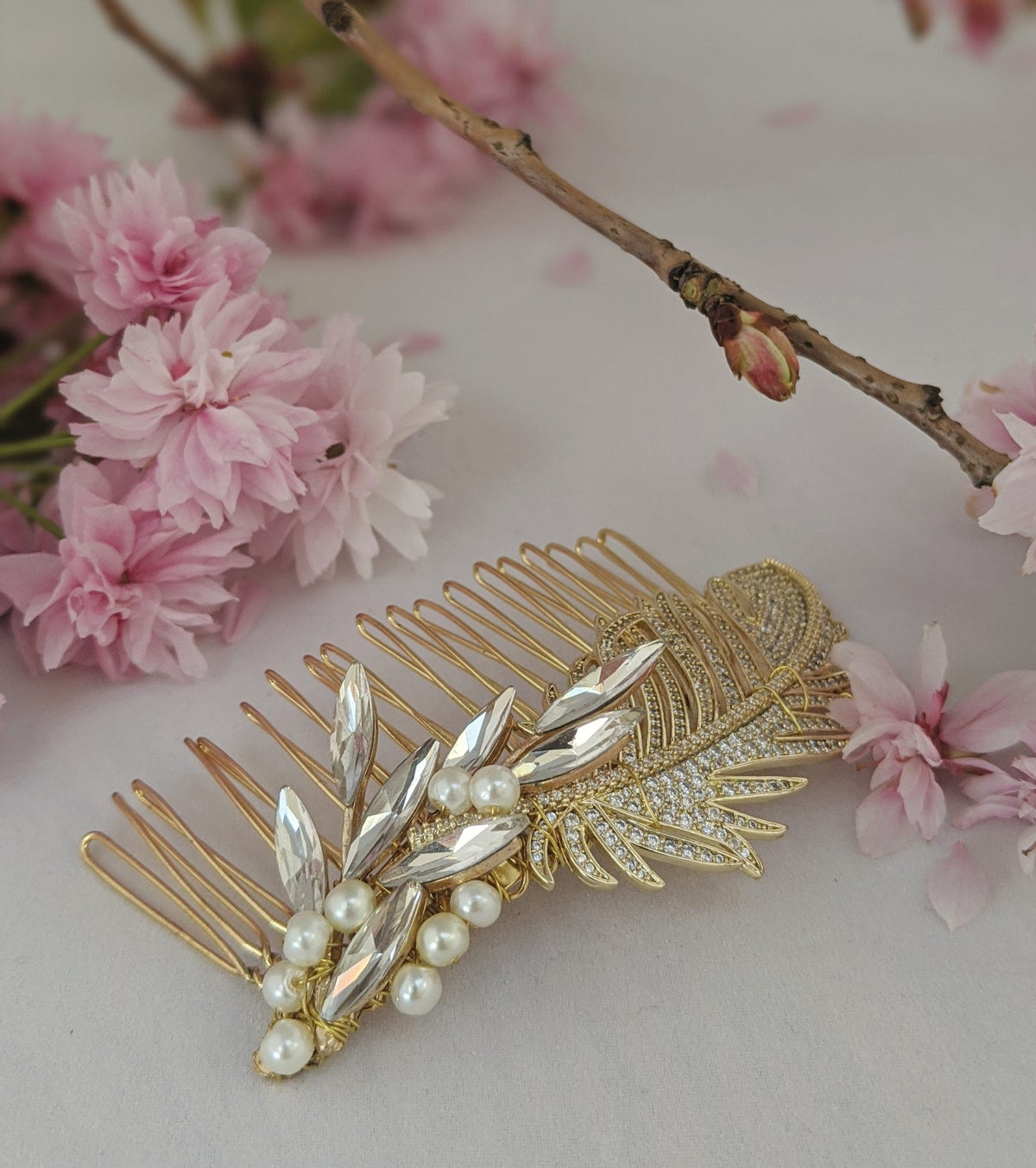 Adelaide hair comb