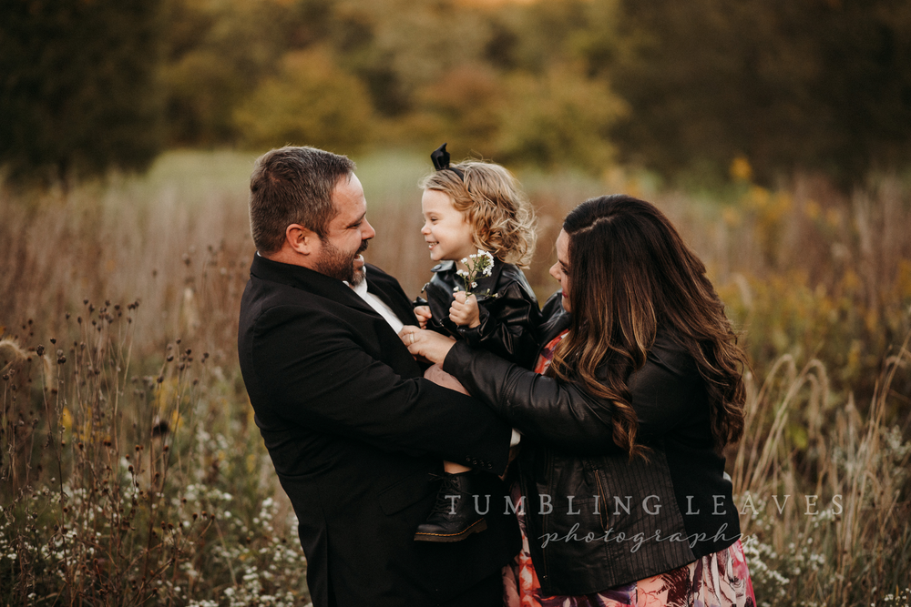 Image of Fall family mini sessions - Bloomington/Normal