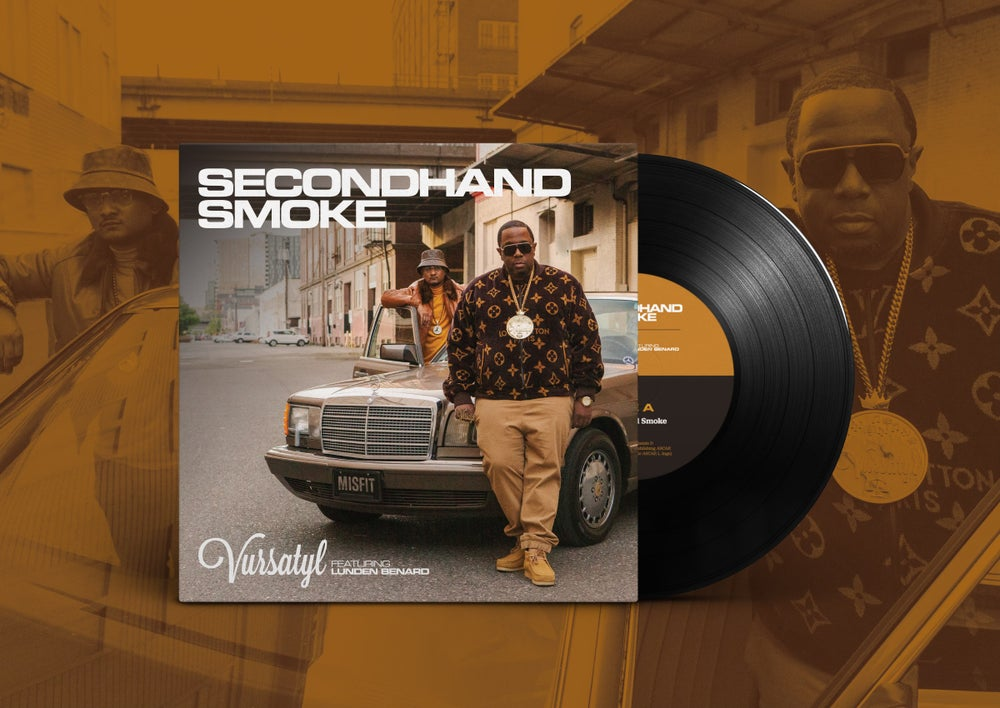"""Image of Secondhand Smoke 7""""inch Vinyl Single / On Clear Vinyl"""