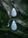 Dominican Larimar Cabochons Oval & Pear