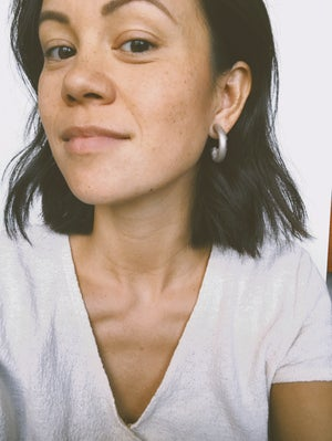 Image of Leather Hoops | Mini Size