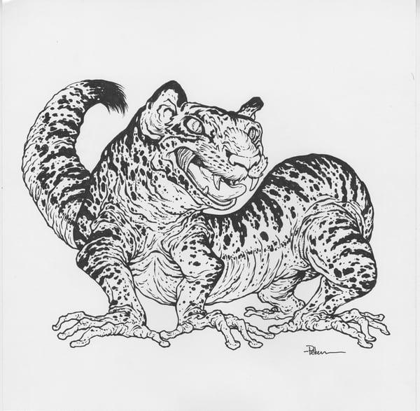 Image of Mustela Leopiger Original Art