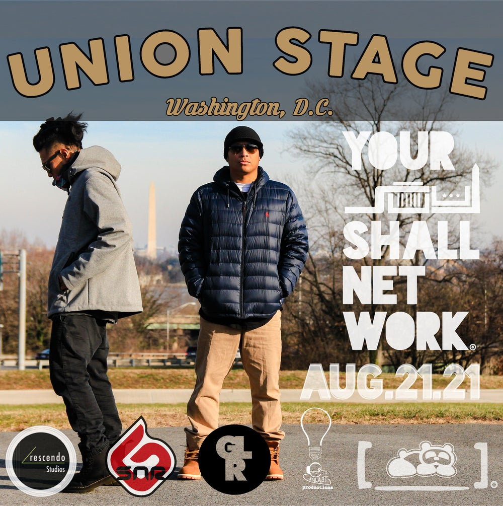 Image of S.N.R.G.   Union Stage August 21st