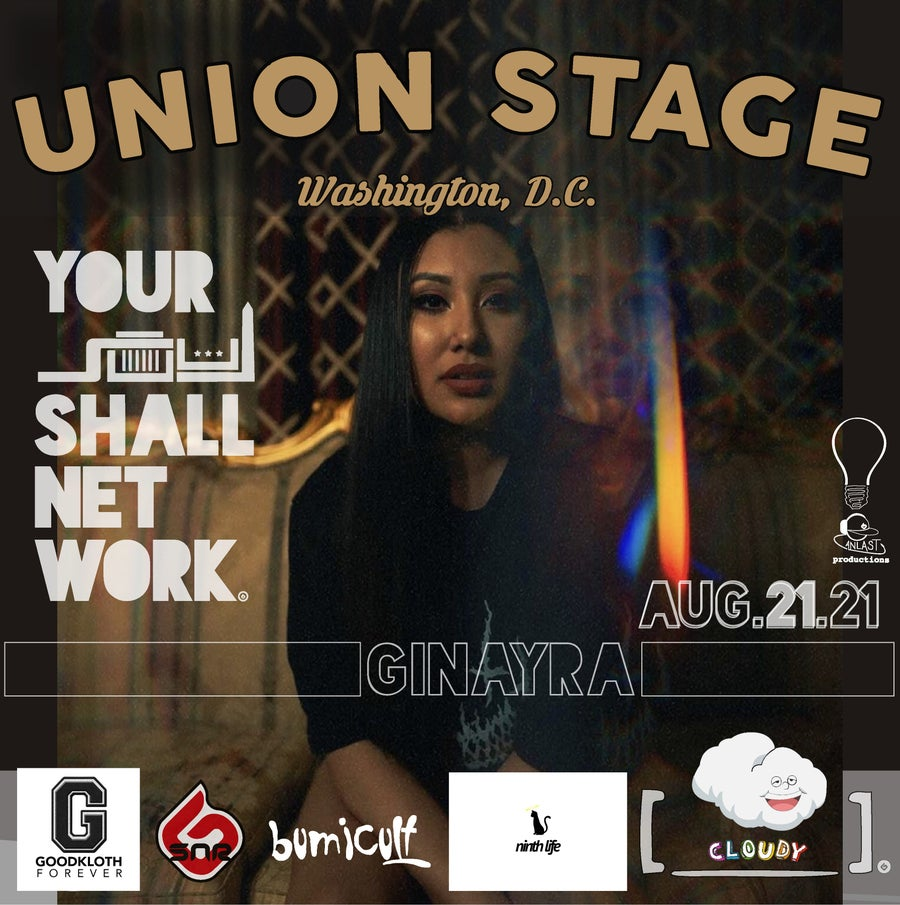 Image of Ginayra | Union Stage August 21st