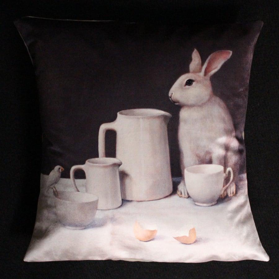 Image of Velvet White Rabbit