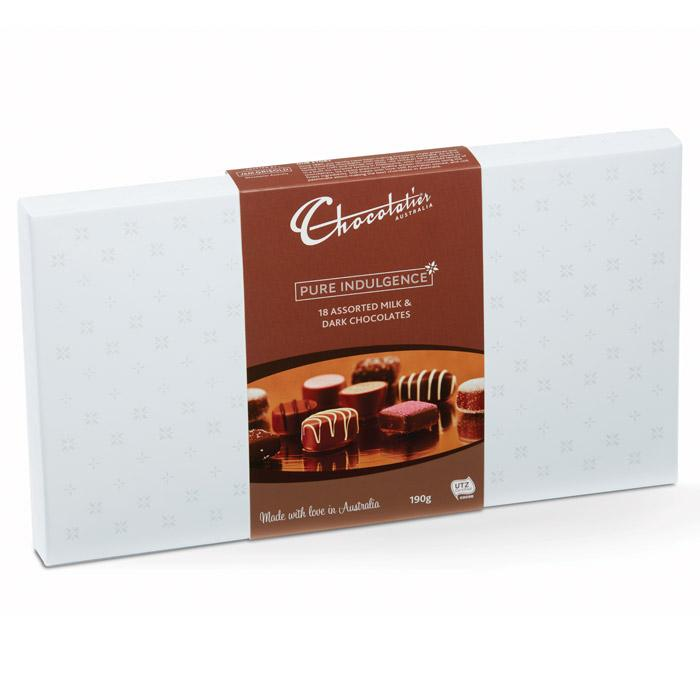 Image of Milk & Dark Chocolate Mixed Selection - 190g