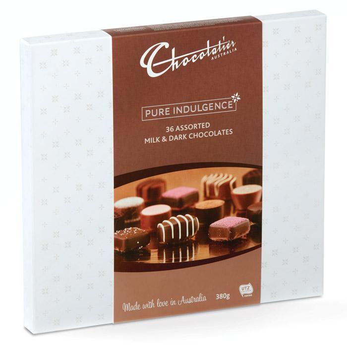 Image of Milk & Dark Chocolate Ultimate Gift Box - 380g
