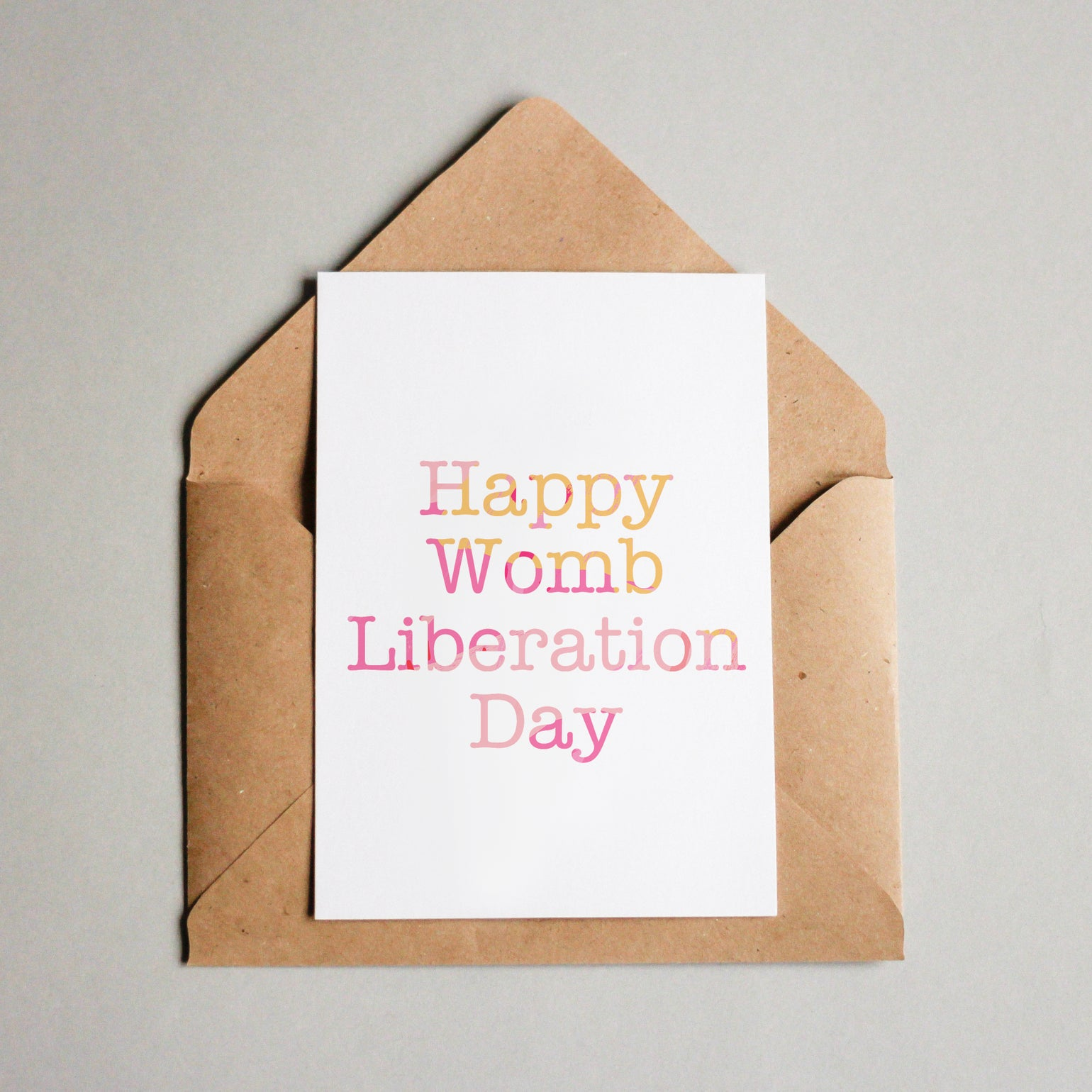 Image of Happy womb liberation day