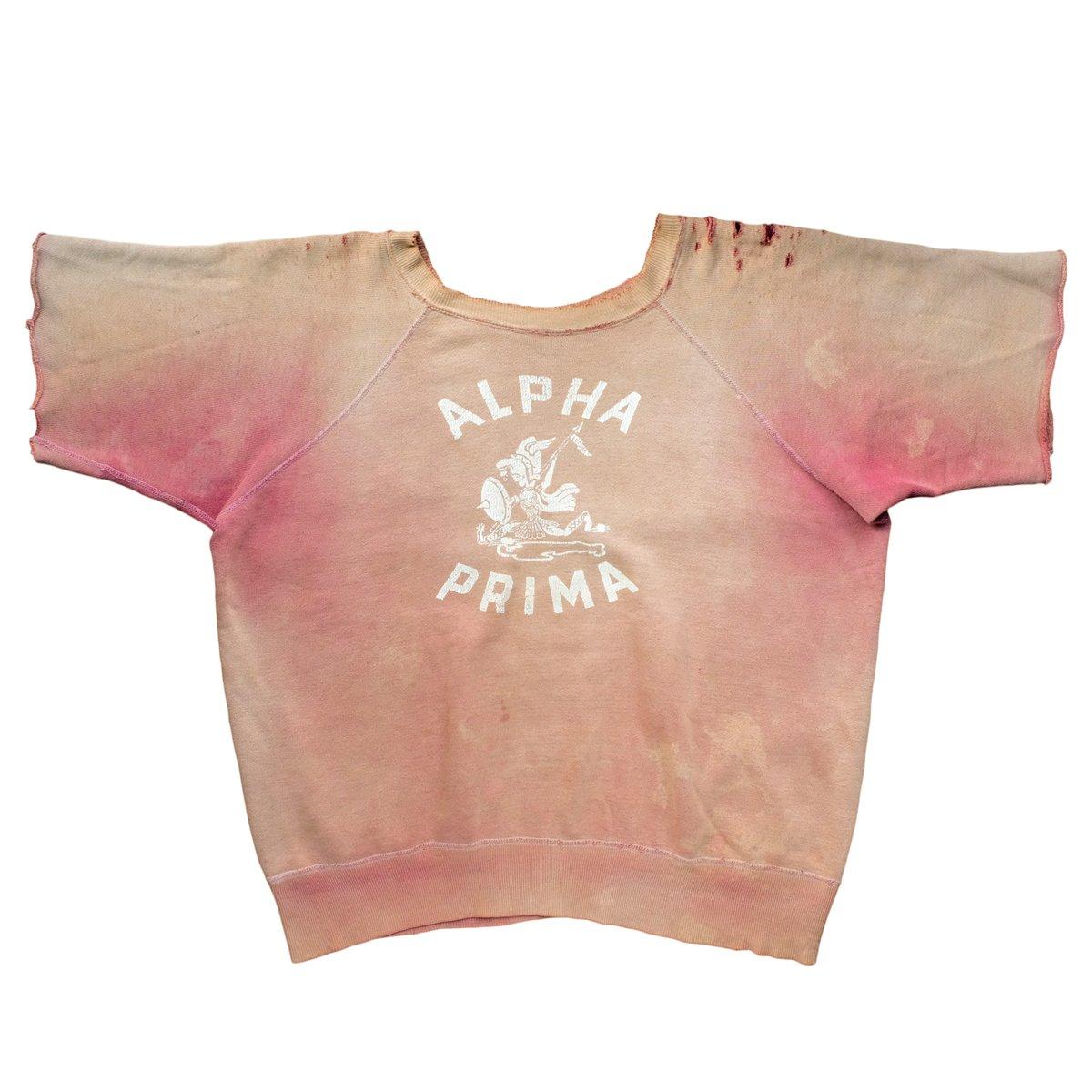 Image of Vintage 50s/60s Sunfaded Alpha Prima Cut Off Sweatshirt