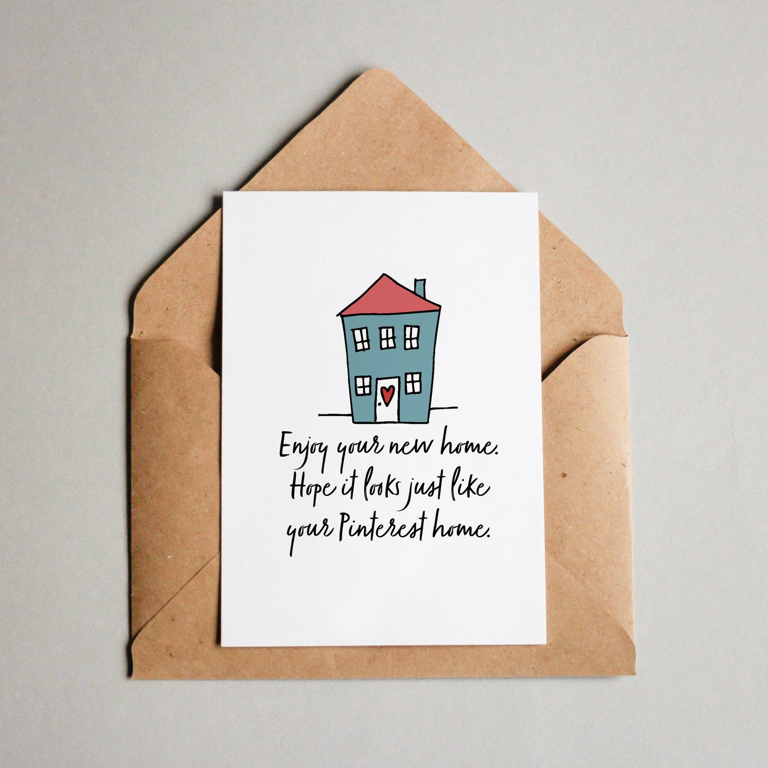Image of Enjoy your new home. Hope it looks just like your Pinterest home.