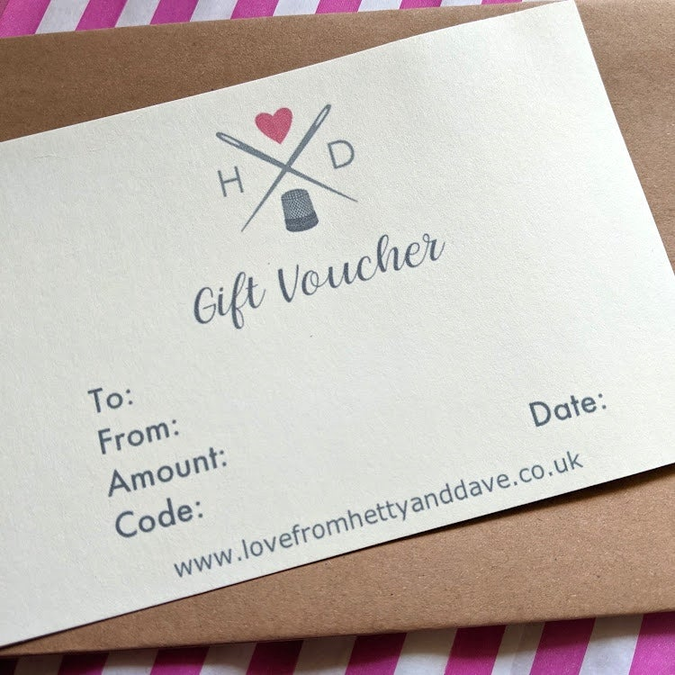 Image of Physical Gift Voucher