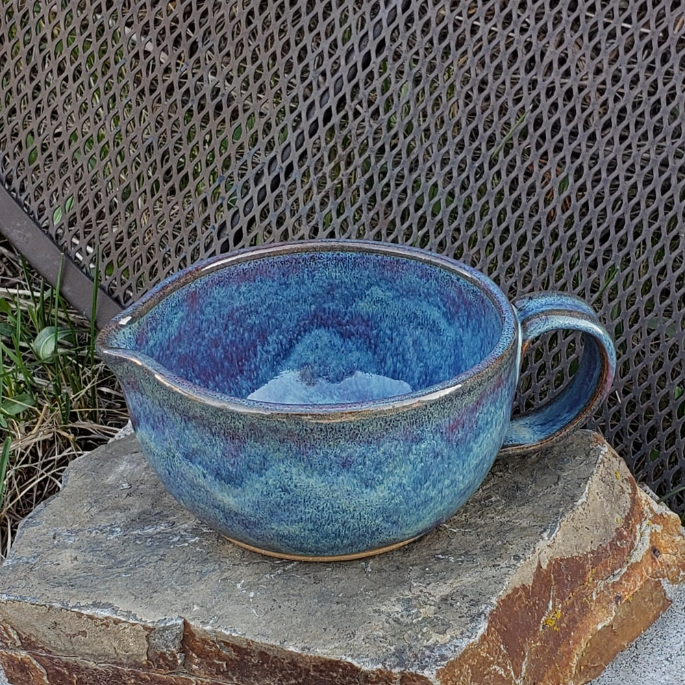 Image of Countertop-worthy Batter Bowl 3 cup: Lupine (periwinkle)