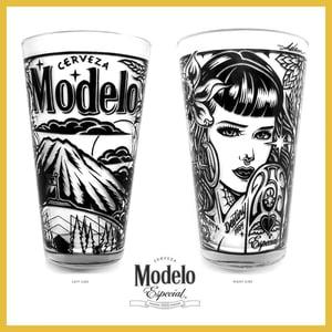 Image of Modelo Tacoma Pint Glass