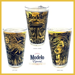 Image of (SOLD OUT) Modelo Seattle Pint Glass