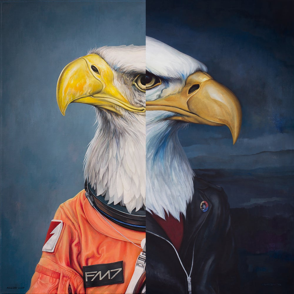 Image of PREORDER - Giant Eagles - Double Feature CD
