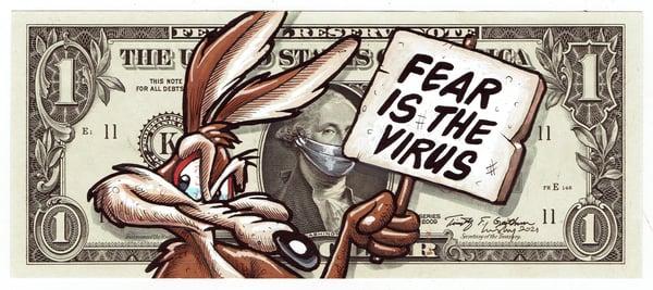 Image of Real Dollar Original. Fear Virus.