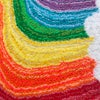 Large Wonky Rainbow Wall Hanging