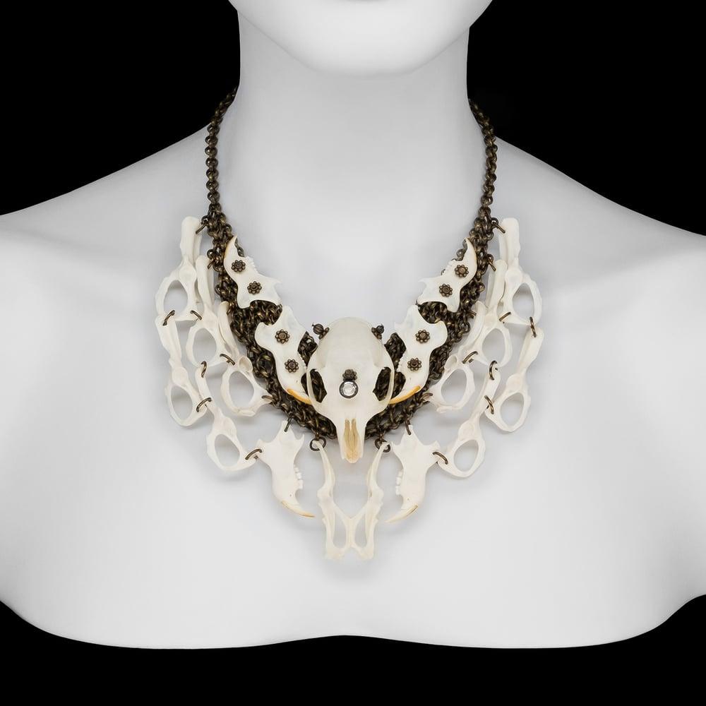 "Image of ""Ava"" Squirrel Bone Necklace"