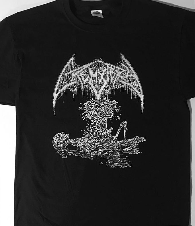 """Image of Crematory """" Exploding Chest """" T shirt"""