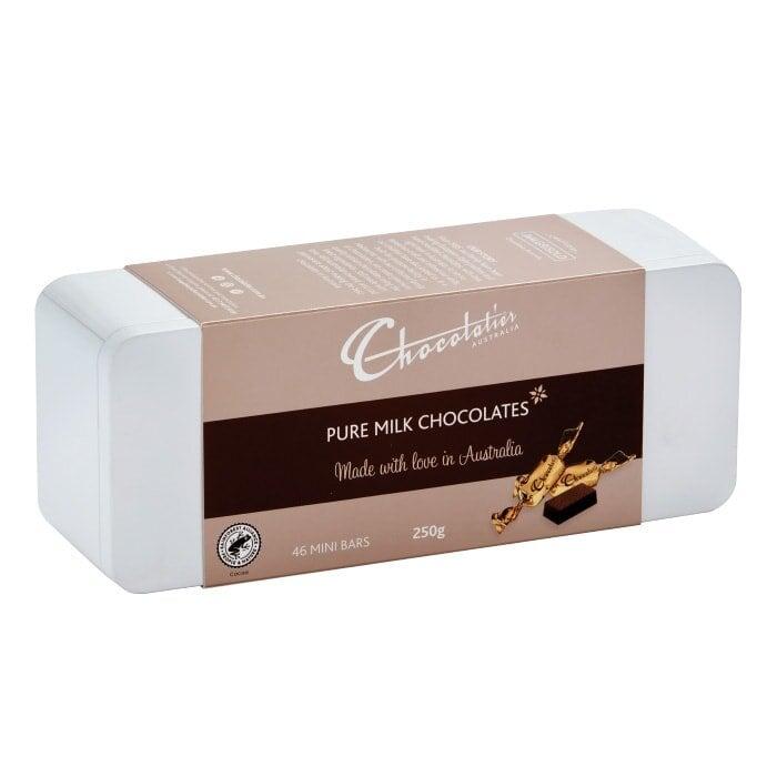 Image of Gift Tin Milk Chocolate 250g