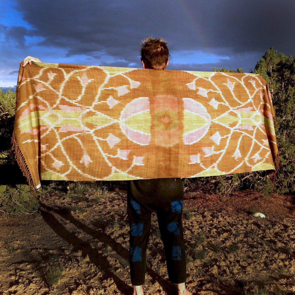 Image of Bougainvillea Silk Ikat