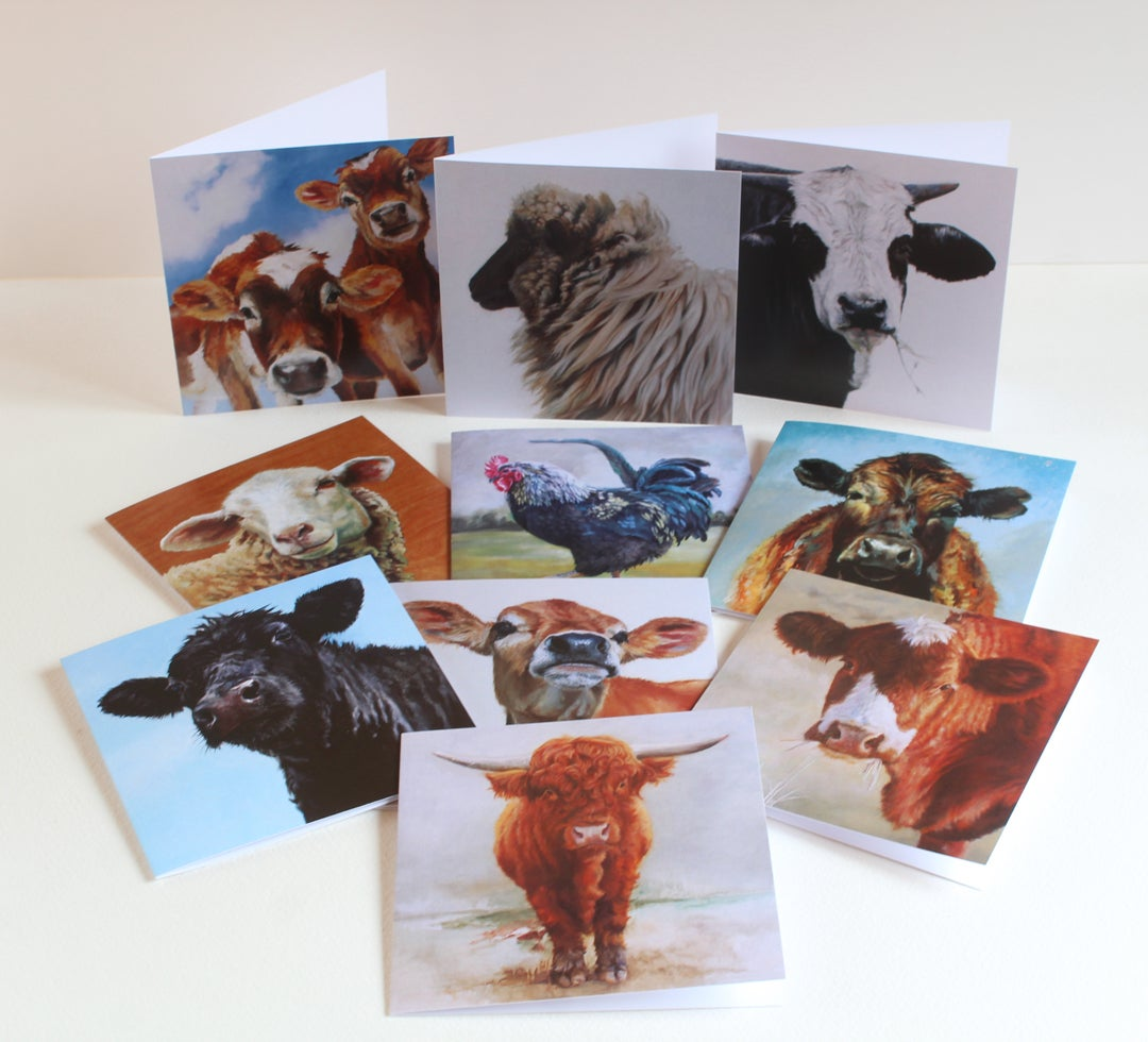 Image of Square cards