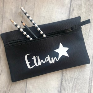 Image of Personalised Star Pencil Case
