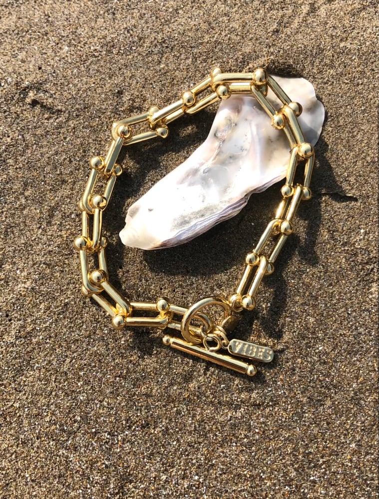 Image of Chuncky Necklace & Bracelet