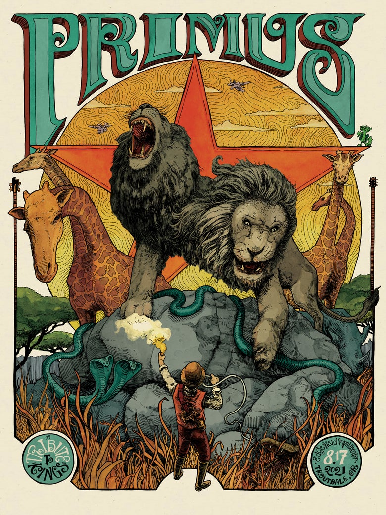 Image of Primus - 8.17.21 - Troutdale, OR (Main)
