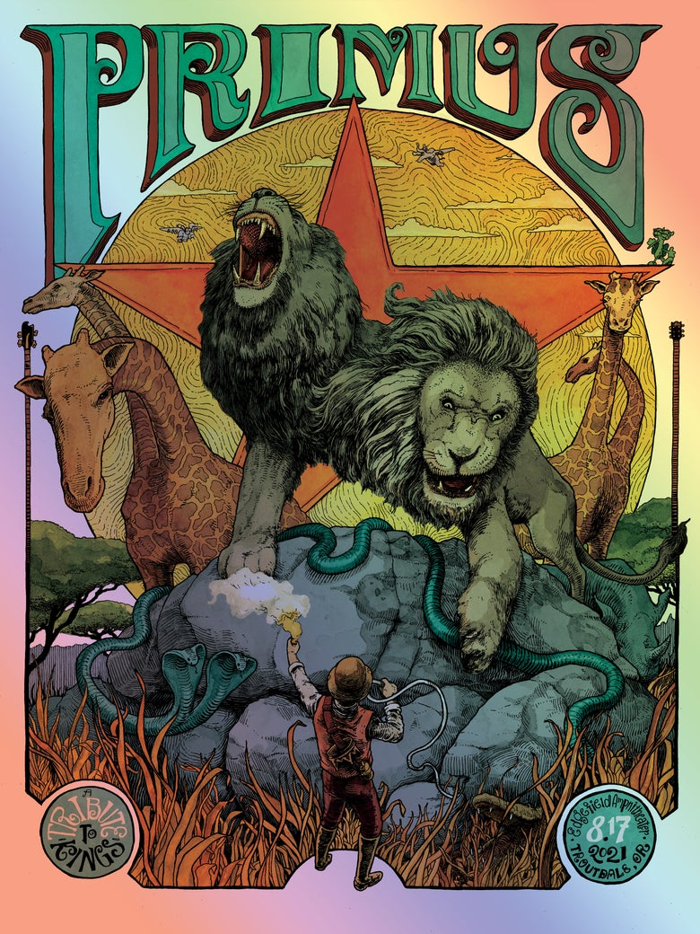 Image of Primus - 8.17.21 - Troutdale, OR (FOIL)